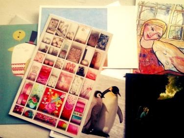 postcrossing kaartjes