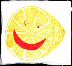 lachende citroen