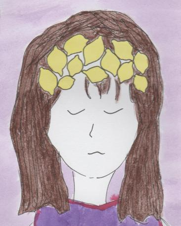 citroenen in je hoofd