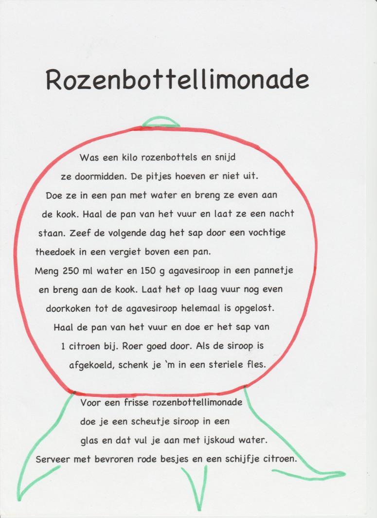 rozenbottellimonade